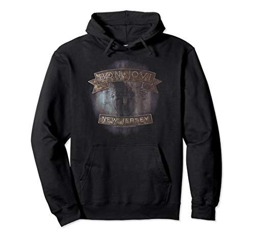 Bon Jovi New Jersey Pullover Hoodie