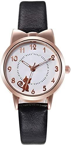 JZDH Reloj de Pulsera, Una Variedad de Modelos Femeninos Opcionales de Color, Reloj de Cuarzo de Dibujos Animados de Estudiante, Reloj de Deportes de Dibujos Animados Lindo de 28 mm.