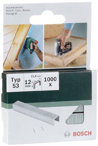 Bosch 2 609 255 822 - Grapa tipo 53 (pack de 1000)