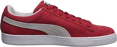 PUMA Suede Classic Sneaker,High Risk Red/White,11 M US Men
