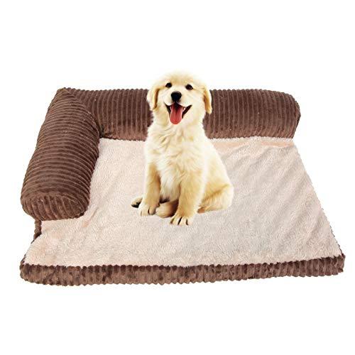 WJIN Cama para Mascotas, café Four Seasons, extraíble, Lavable, para Perros, sofá Cama, Alfombrilla cómoda, Cojines