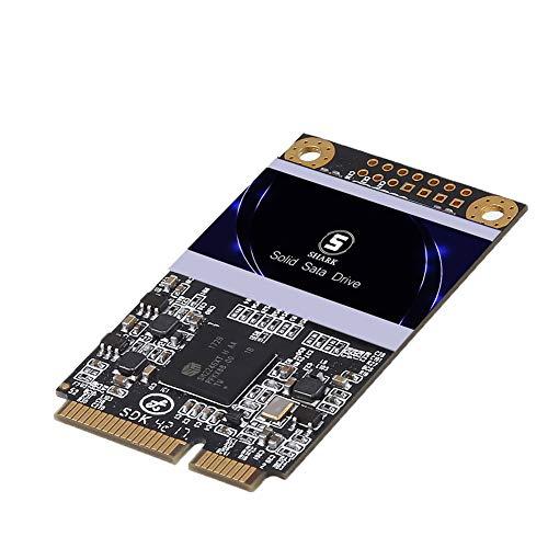 Shark SSD Msata 32Go Interne d'un Disque à l'état Solide De Bureau Portable De Haute Performance De Lecteur De Disque Dur Comprend Un SSD 32Go 60Go 64Go 120Go 128Go 240Go 250Go 500Go (32Go, Msata)