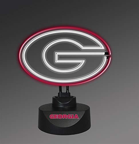 georgia bulldog lamp - 5