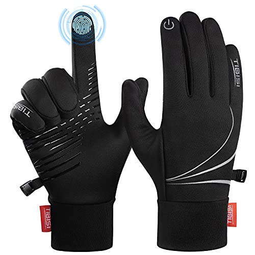 Unaora Winter Gloves, Upgraded Touch Screen Anti-Slip Silicone Gel Work Gloves for Men and Women,...