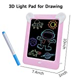 Aifer Kids Toys LCD Writing Tablet 8.5 inches Board-Drawing Writing Pads Gifts for Kids (Pink)
