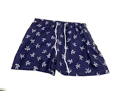 Mermaid Bañador Hombre Shorts, Traje de Baño para Jovenes, Bañador Short Playa para Natación, Piscina, Playa Secado Rápido, Tallas XL