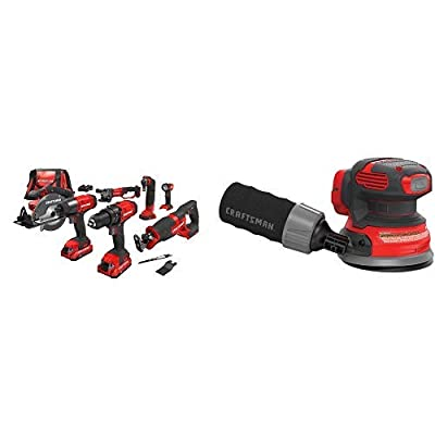 CRAFTSMAN V20 Cordless Drill Combo Kit, 7 Tool (CMCK700D2)