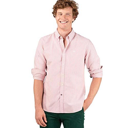 El Ganso 1 Camisa casual, Rojo (Rojo 0036), X-Large para Hombre