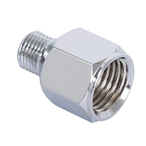 1 adaptador de manguera de aire para aerógrafo de 1/4 pulgadas BSP hembra a 1/8 pulgadas BSP macho conector de cepillo de aire para compresor de aire
