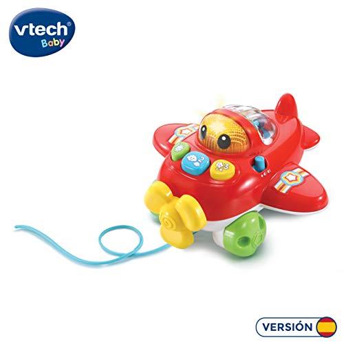 VTech- CAPI la avioneta, avión bebé con más de 70 melodí