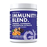 IMMUNE BOOSTER SUPPLEMENT: GT Immunity Blend is formulated with a combination of natural immune boosting nutrients that are designed to proactively keep your immune system healthy and ready to take on whatever comes your way. TURMERIC, ELDERBERRY & M...