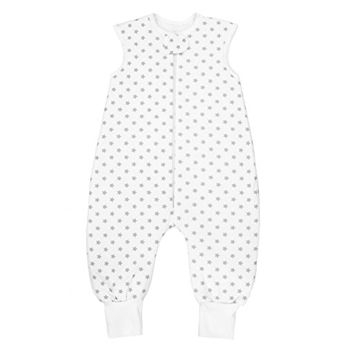 manga larga Saco de dormir para beb/é con piernas M//altura 92 cm para invierno 102 cm forro c/álido 2,5 tog con pies