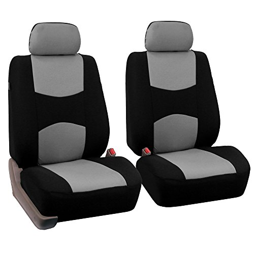 FH Group Universal Fit Flat Cloth Pair Bucket Seat Cover