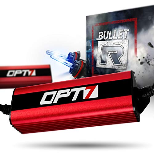 OPT7 Bullet-R 9007 Bi-Xenon HID Kit - 3X Brighter - 4X Longer Life - All Bulb Sizes and Colors - 2...