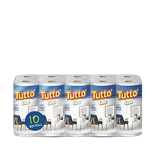 TODO CASA   Paquete de 10 rollos   1000 tiras a disposición