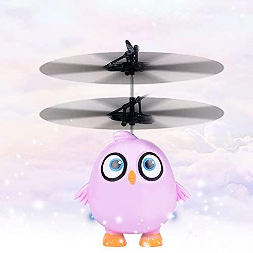 Juguetes Voladores, Fáciles Juguetes De Drones Voladores Para Interiores Con Sensor De Infrarrojos Sensor LED De Color Brillante Automático Mini Drones Avión De Navidad Regalos Para Niños Y Niñas Jugu