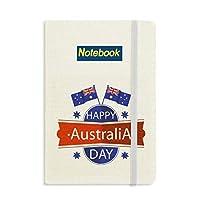オーストラリアのオーストラリアの日の旗 ノートブッククラシックジャーナル日記A 5