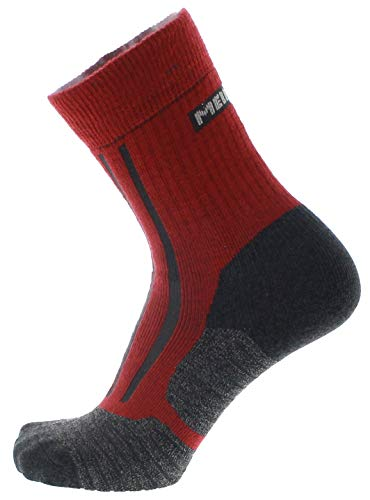 Meindl Unisex-Adult Socks, Bordeaux, 39-41