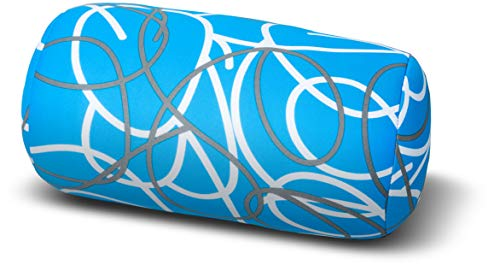 Invitalis 5257 Knuffel-Maxx relaxkussen, lijnen blauw