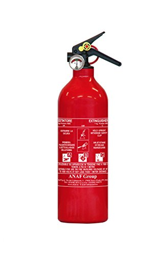 AnafGroup Estintore 1kg Polvere 8A-34B-C RINA (Italy)