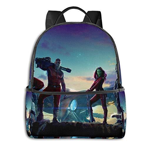 Guardianes de la Galaxia Mochila, para estudiantes adolescentes niños y niñas libro de viaje camping
