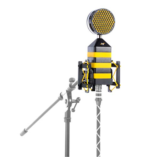 NEAT King Bee Cardioid Solid State Condenser Microphone with Pop Filter and Shockmount