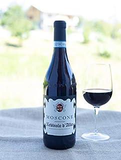 Vino Rosso Cantine Moscone Bottiglia da 0,75 lt (Nebbiolo D'Alba DOC)