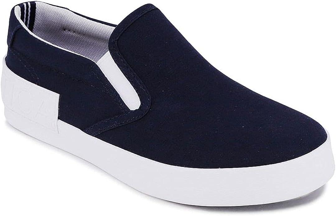 Nautica Kid's Slip-On Casual Shoe Athletic Sneaker - Youth-Toddler Akeley (Big Kid/Little Kid/Toddler)