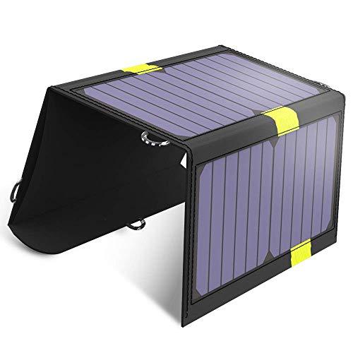 BAYUE Panel Solar monocristalino de 20 vatios y 12 voltios para RV, Barco, hogar, jardín