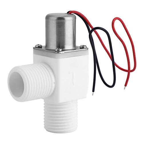 SHUGJAN Magnetventil Absperrventil Kunststoff elektrischen Impuls Magnetventil for Wasser Steuerung 3.6VDC 1/2