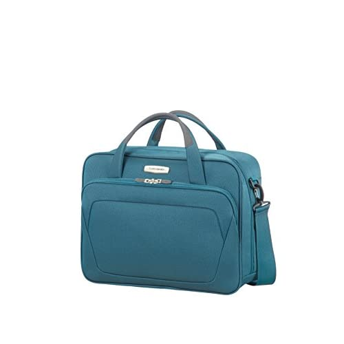 Samsonite Spark SNG Shoulder Bag Borsa Messenger, 44 cm, 25 liters, Blu Petrolio