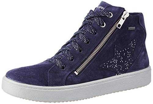 Superfit M dchen Heaven Sneaker, Blau 8000, 35 EU