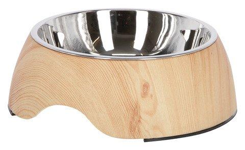 Kerbl 80509 Gamelle en mélamine Wood