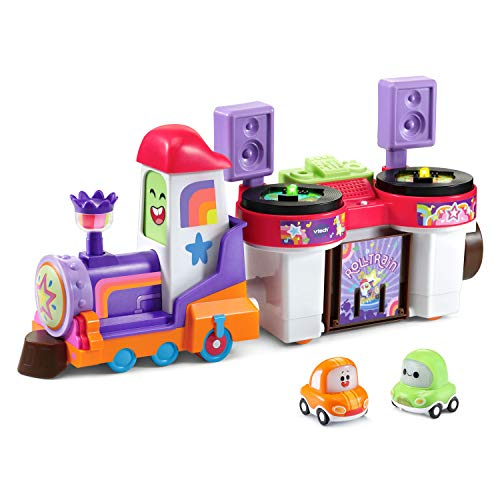 VTech Go! Go! Cory Carson - DJ Train Trax and The Roll Train, Multicolor