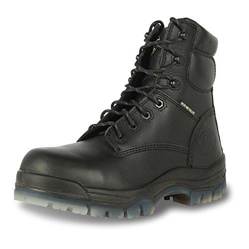 "Oliver 42 Series 6"" Soft Toe Men's Leather Work Boots, Black (42646)"