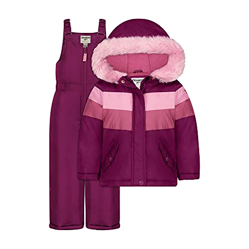 Product Image of the OshKosh B'Gosh Girls Printed Heavey Weight Winter Coat and Snow Pants