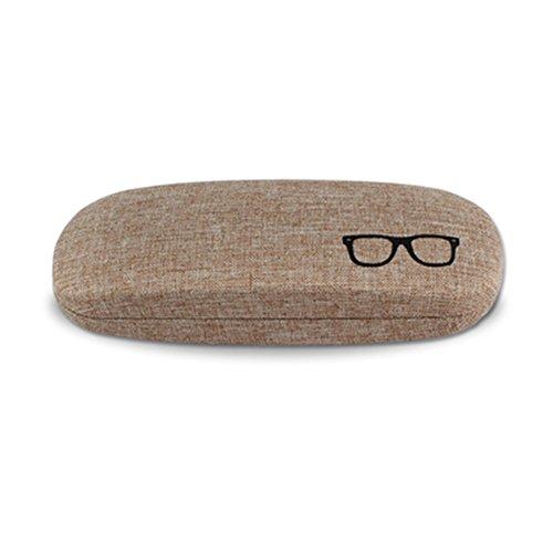 kentop Gafas Caja Funda Malet/ín Gafas Eyeglass Case con ventana y 8/compartimentos para guardar y presentaci/ón Gafas de sol