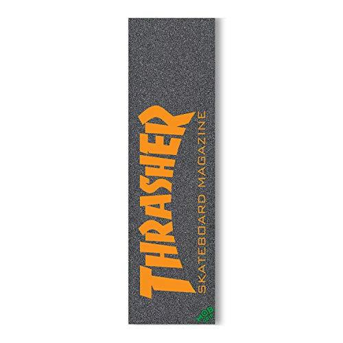 Mob Skateboard-Griptape Thrasher Skate Mag Orange Griptape Blatt 22,9 x 83,8 cm
