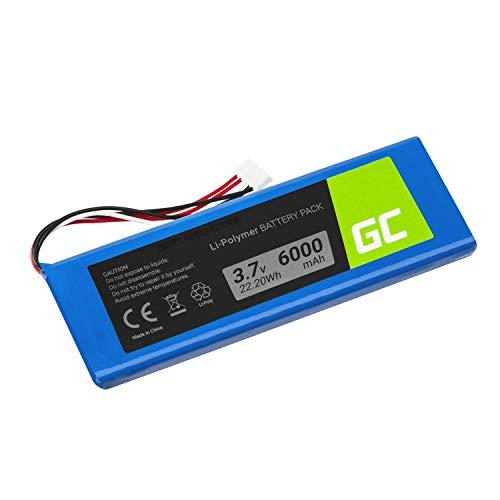 Green Cell ® 5542110-P P5542100-P P5542100P Akku, Batterie für drahtlosen Lautsprecher JBL Pulse 2 Pulse 3 Pulse II/III (Li-Polymer Zellen 6000mAh 3.7V) Moderne Technik, vertrauer