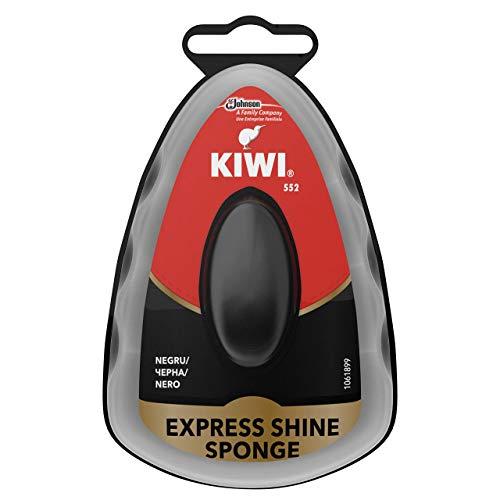 Kiwi Spugna Autolucidante per La Pulizia delle Scarpe, Nero