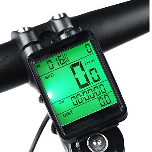 Velocímetro De La Bici Clear LCD De Pantalla a Prueba De Agua...