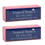 Tropical Shine Mini 4-Way Nail Buffer Block 2 piece...