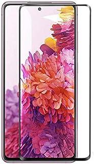 واقي شاشة كامل لهاتف Samsung Galaxy S20 FE / S20 Fan Edition 5D بإطار أسود