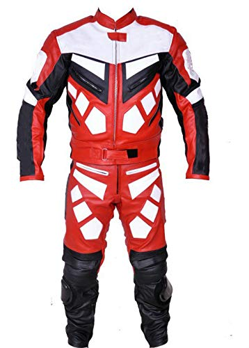 Corso Fashion Herren Motorrad Lederkombi - Motorrad Rennsport Schutzkleidung Bikerausrüstung - Maßanfertigung Style232