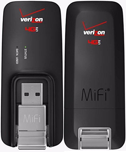 Verizon MiFi USB620L U620L 4G LTE Global USB Modem Black,Verizon (Renewed)