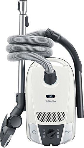 Miele Bodenstaubsauger Compact C2 Allergy EcoLine Plus / EEK A / Compact-System zur platzsparenden Aufbewahrung / HEPA AirClean-Filter (H13) / Comfort-Kabelaufwicklung / nur 69 dB(A) lotoweiß