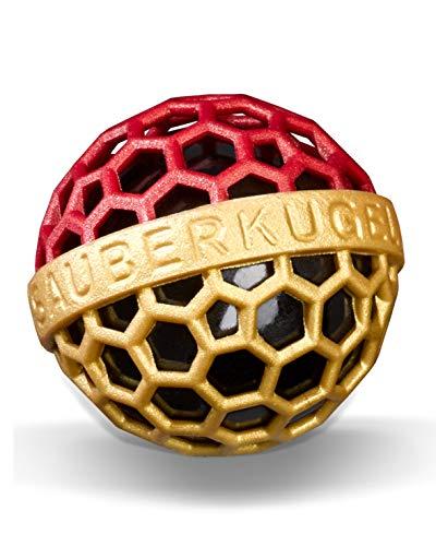 SAUBERKUGEL® für die Tasche | Deutschland in Schwarz Rot Gold | Wiederverwendbarer Taschenreiniger für Handtasche, Schulranzen & Rucksäcke | Nimmt Schmutz & Krümel auf | Silikonfrei (3,5 cm)