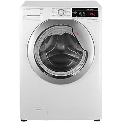 Hoover Dynamic Next DXOA69HC3B 9Kg Washing Machine with 1600 rpm - Black / Chrome