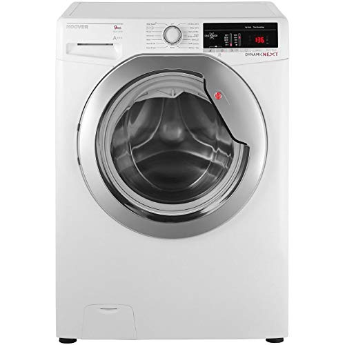 Hoover Dynamic Next DXOA69HC3B 9Kg Washing Machine with 1600 rpm - Black / Chrome