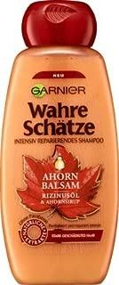 Hair Wash/Shampoo Treasures Maple Balsam (Castor Oil + Maple Syrup/300 ml for Damaged Hair